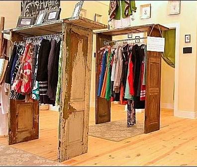 Shutter Door Clothing Racks Main