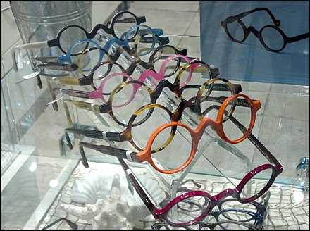Groucho Glasses on Display