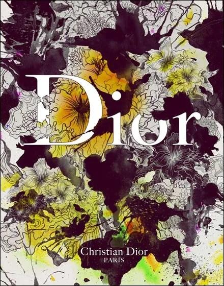 0 mixed-media-illustrations-designer-brands-by-daryl-feril-chicquero-christian-dior