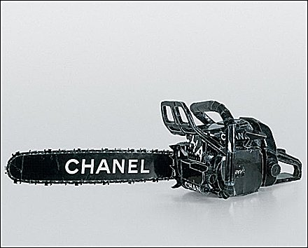 Designer Chain Saw by Chanel