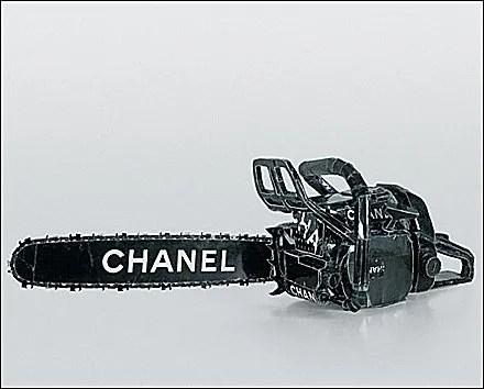Designer Chain Saw by Chanel