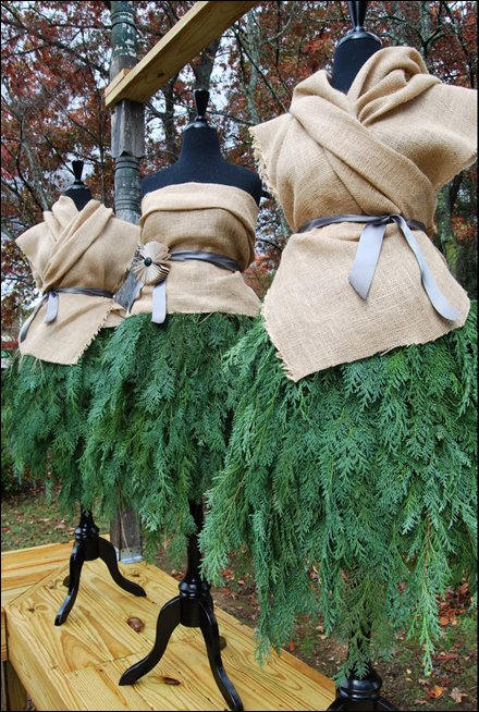Evergreen Fashions for Christmas