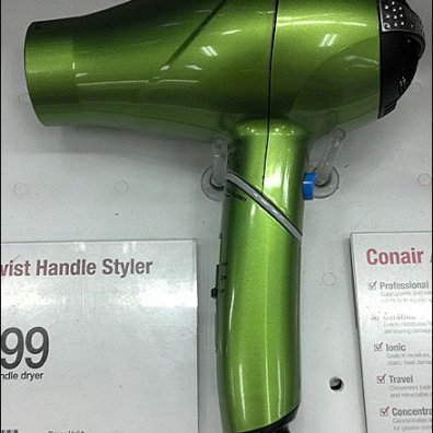 Hair Dryer Display Post Main