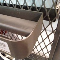 Shoe Ledge on Expanded Metal or Mesh Main