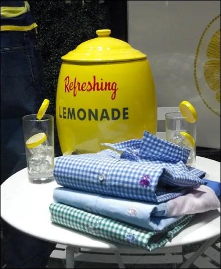 Sip Lemonade While You Shop