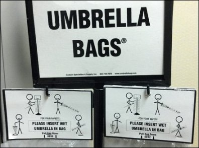 Umbrella Bag Instructions