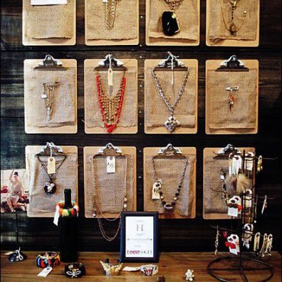 Clipboards As Jewelry Purveyor