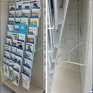 Pegboard Rack Kickstand Composite