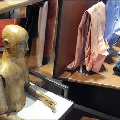 Poseable Wood Mannequin Aux
