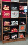 Styrofoam-Backed T-Shirt Display