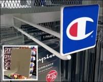 Champion Logo Bar Hook Composite