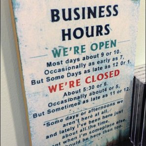 Complicated Business Hours Aux