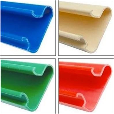 European Color Slatwall Inserts