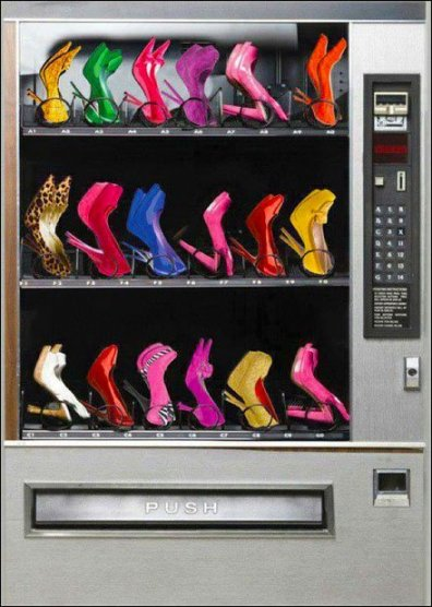 Fashion Shoe Vending Machine for High Heels