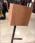Rebar as Retail Sculpture