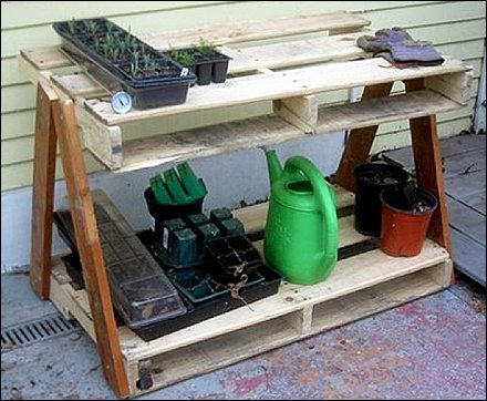 Do-It-Yourself Wood Pallet Upcycling