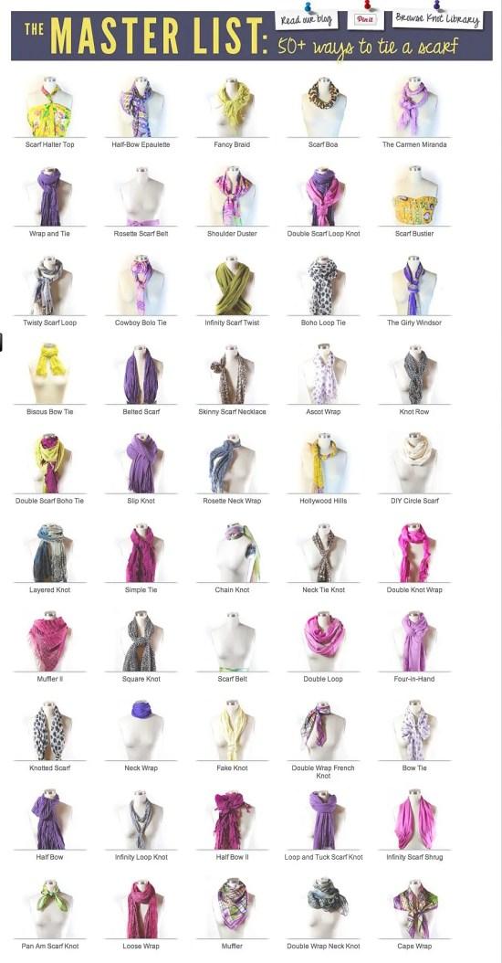 50 Fresh New Scarf Ties