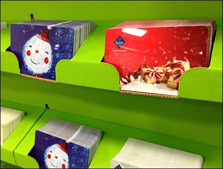 Corrugated Gift Card Holders Main