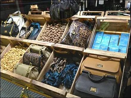 Dolce Gabbana as Fashion Grocery