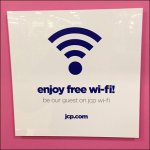 Enjoy Free Wi-Fi Aux