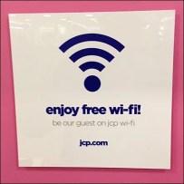 Enjoy Free Wi-Fi Aux