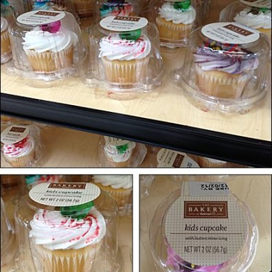 Kids Cupcake Bell Jars on Sale