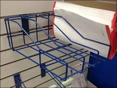 USPS Angled Rack Propped 1