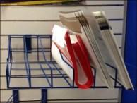 Acrylic Multi-Pocket Literature Rack