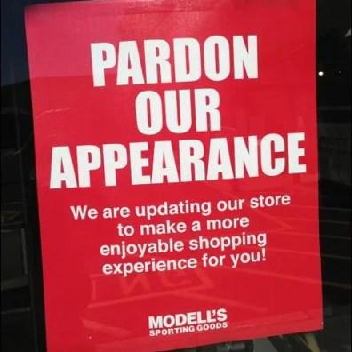 Pardon Our Appearance Aux
