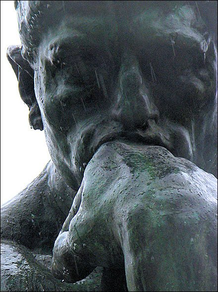 """Images of """"The Thinker"""" Courtesy of Rodin and Wikipedia"""