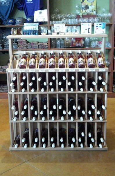Wine Bottle Linear Rack 2