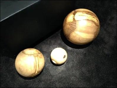 Burl vs Bocce Balls in Retail