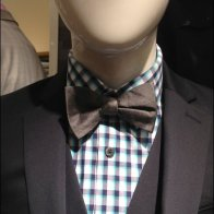 Mannequin Bow Tie Closeup