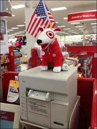 Patriotic Target Mascot 2