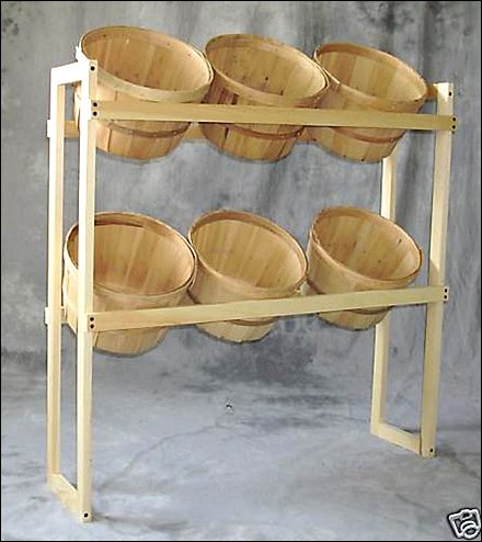 6 Bushel Basket Do-It-Yourself Display