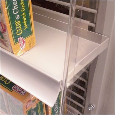 C-Channel Equipped PowerWing Shelf Closeup Main