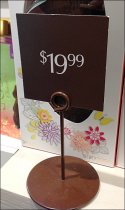 Godiva Chocolate Easter Sign Stands