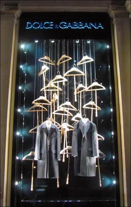 Dolce Gabbana Hangered Window