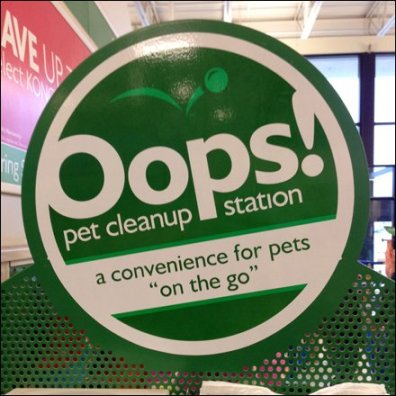 Oops Pet Cleanup Station Main