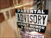Adult Content in Retail Warning Sign