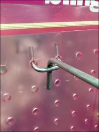 Pink Plastic Pegboard 3