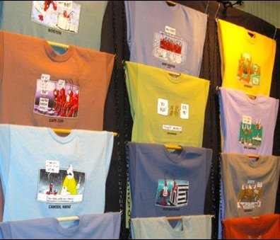 Rod and Chain T-Shirt Display Main