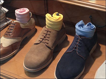 Shoe and Sock Color Cross Sell