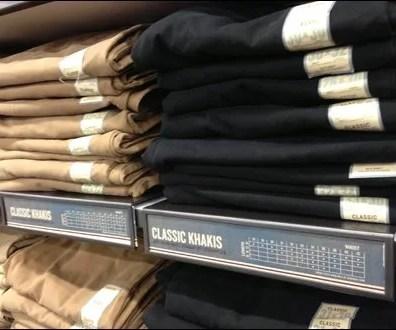 Size Guidance on Shelf Overlay