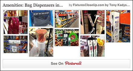 Amenity Bag Dispensers Pinterest Board for FixturesCloseUp
