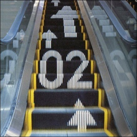 Escalator Wayfinding Hiromura Masaaki Aux