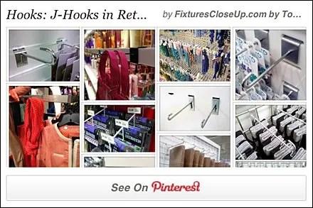 J-Hook Pinterest Board for FixturesCloseUp