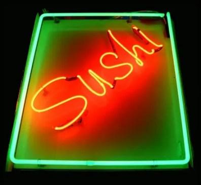 Neon Sign Sushi Main