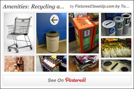 Retail Amenities in Recycling Pinterest Board