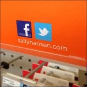 Sally Hansen Tweets and Friends Shelf-Edge Social Media Outreach